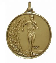 52mm Running Medal 107CT